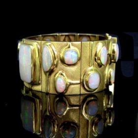 17 Opals Large Bracelet by Burle Marx