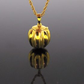 « La Boule de Moulins » Gold Locket Pendant