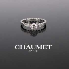 Chaumet Bee My Love Diamond Solitaire Ring
