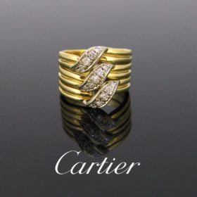 Cartier Diamonds Triple Stack Ring