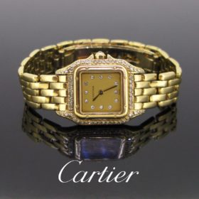 Cartier Panthere Diamonds Small Watch