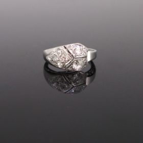 Art Deco Diamonds Ring circa 1920