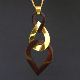 Van Cleef & Arpels Gold Pendant on Chain