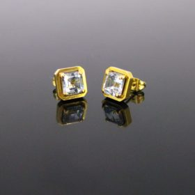 1,90ct Aquamarine Studs Earrings