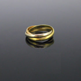 Cartier Trinity Three-Color Gold Ring