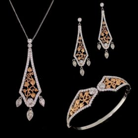 "Clogau Diamonds ""Debutante"" Jewellery Set"