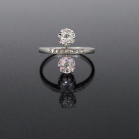 French Belle Epoque Diamonds Ring