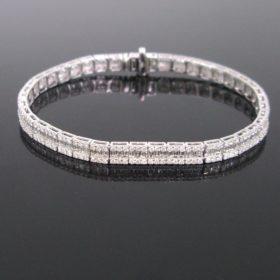 5.30ct Diamonds Line Tennis Bracelet