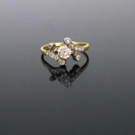Antique Edwardian Diamonds Ring