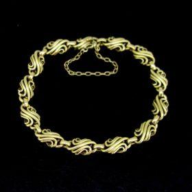 Vintage French Retro Link Bracelet