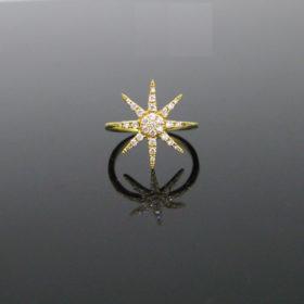 DJULA Diamonds Sun Midi Ring