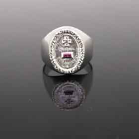 Augis Signet Gold Love Ring